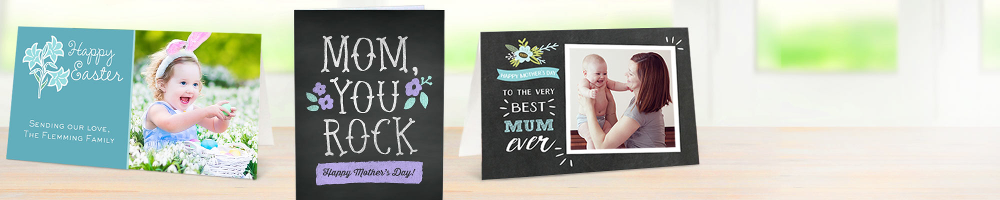 Personalised Cards : Make someone feel truly special by giving them a unique card made by you.